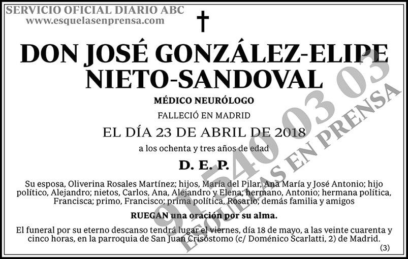 José González-Elipe Nieto-Sandoval